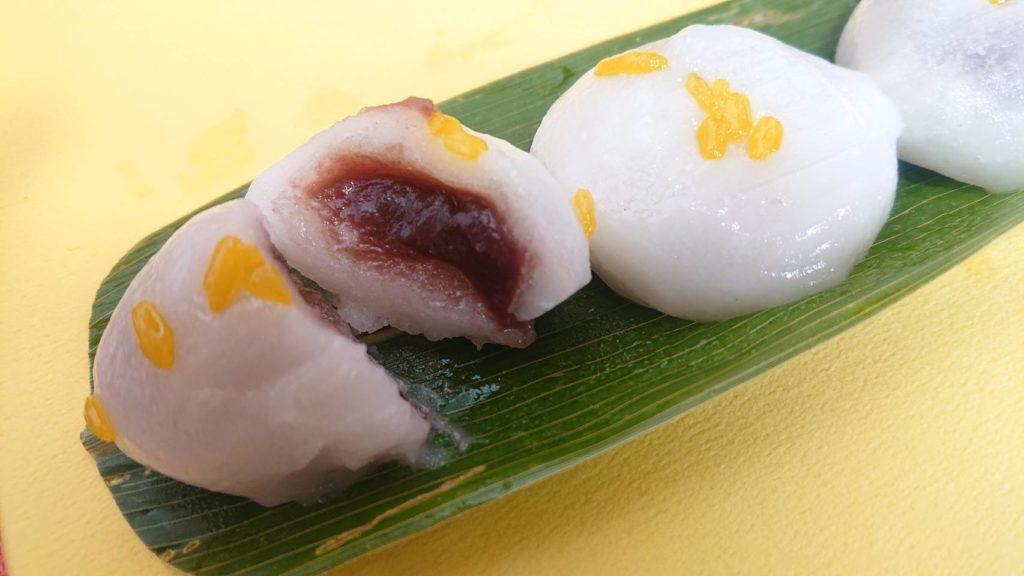 稲花餅カット画像