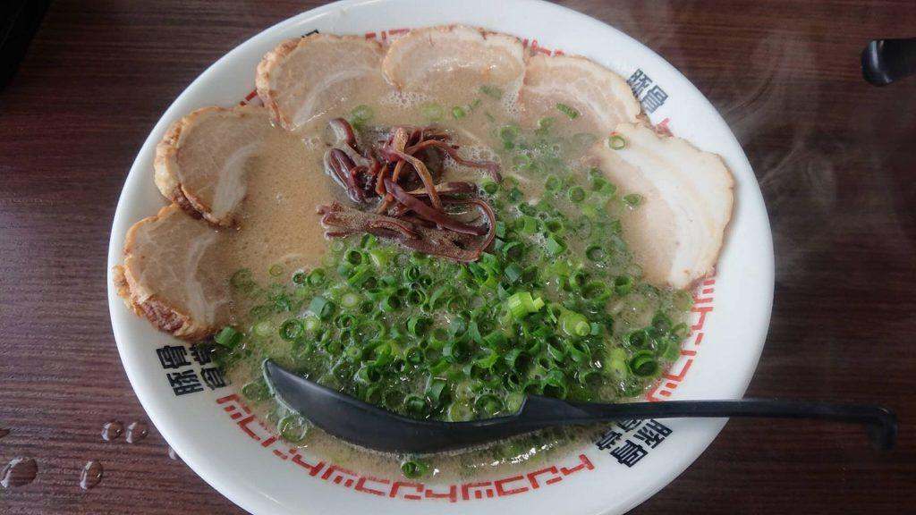 豚骨食堂のとんこつチャーシュー麵1