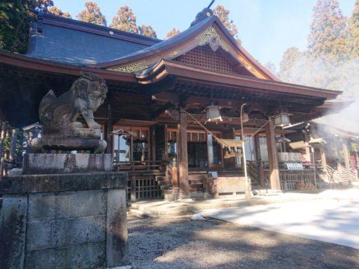 總宮神社の拝殿2