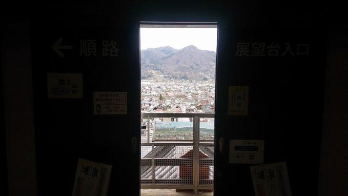 上山城の天守閣