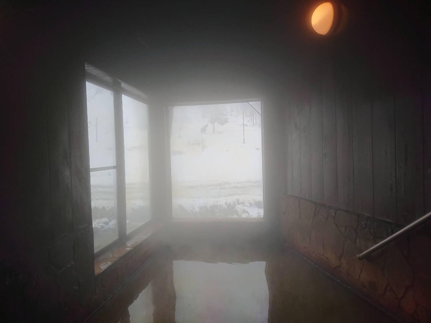 泡の湯温泉 三好荘の浴室1