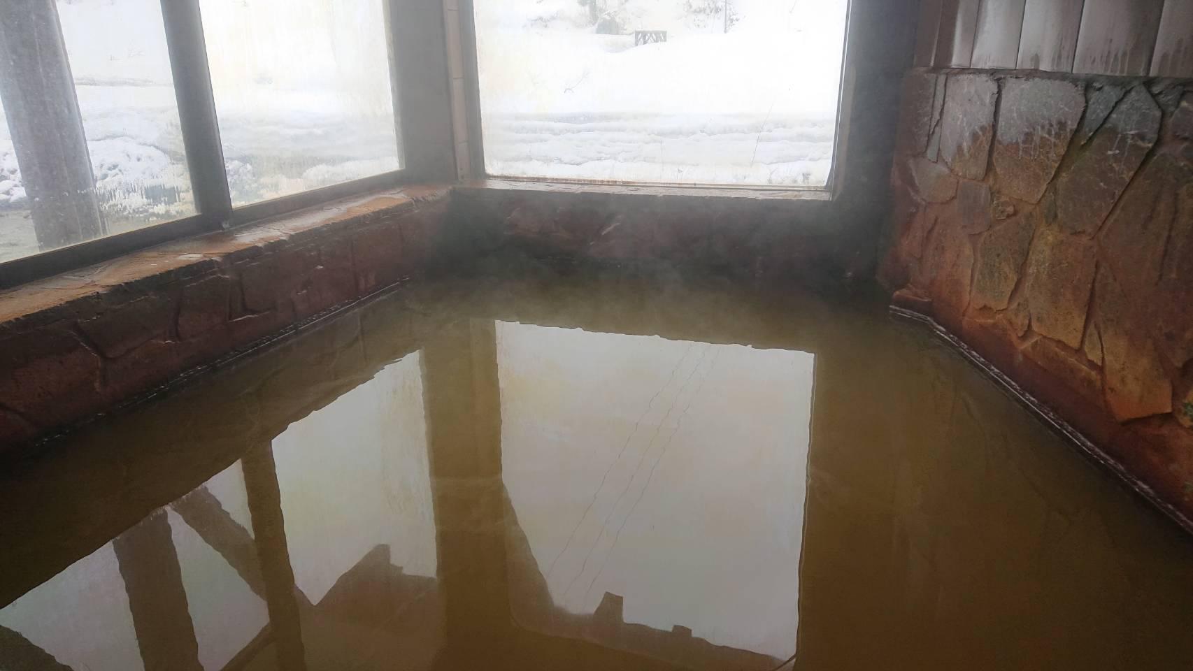 泡の湯温泉 三好荘のお湯
