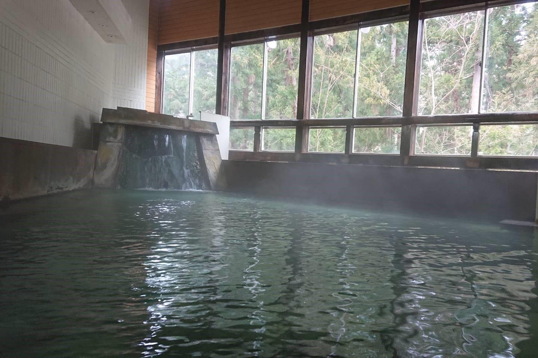 フォーレスト蔵王温泉の大浴場