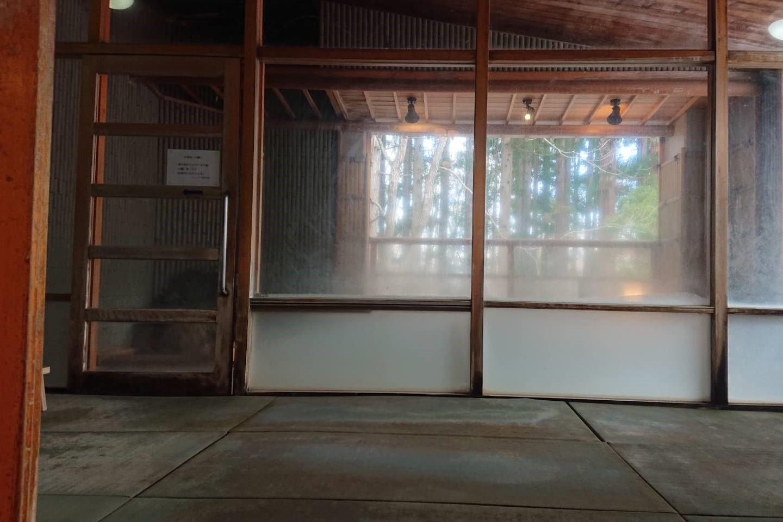 フォーレスト蔵王温泉の露天風呂洗い場1