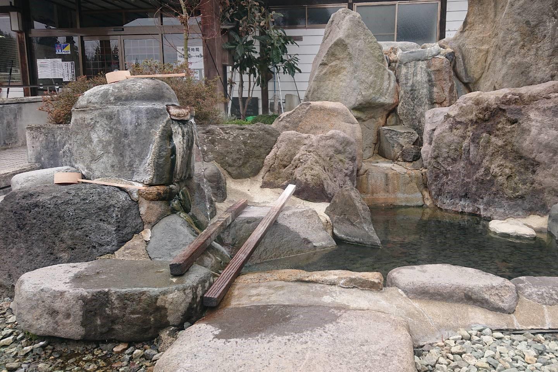 奥おおえ柳川温泉の飲用