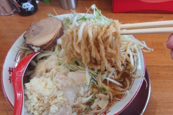 ラーメン金子麺