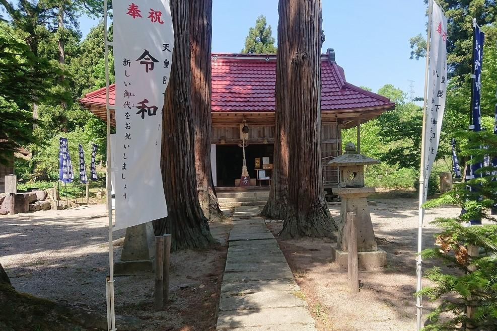 芍薬の杜 諏訪神社の外観1