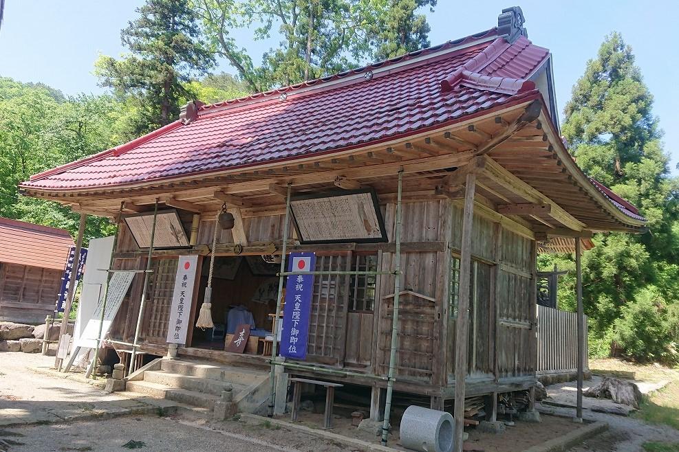 芍薬の杜 諏訪神社の外観2