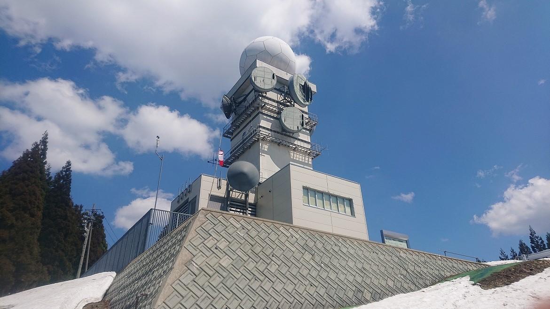 白鷹山レーダー観測所