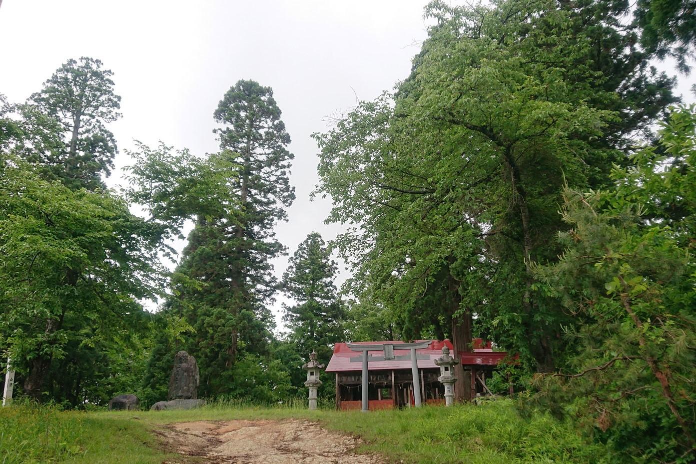 愛宕神社の外観