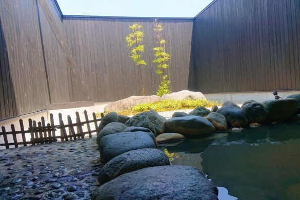 みいずみ温泉 吉乃やの露天風呂