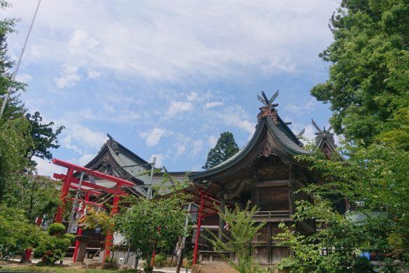 寒河江八幡宮 社殿