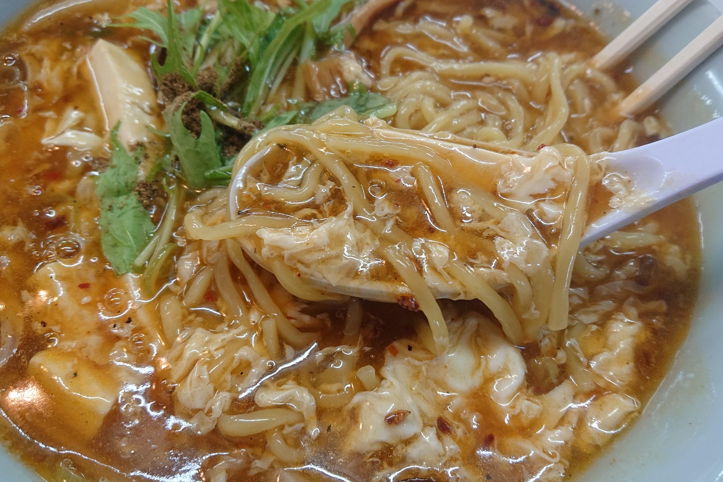 大仙の酸辣湯麺4