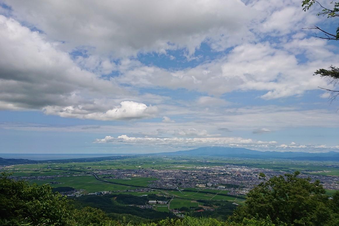 金峯山の一望台