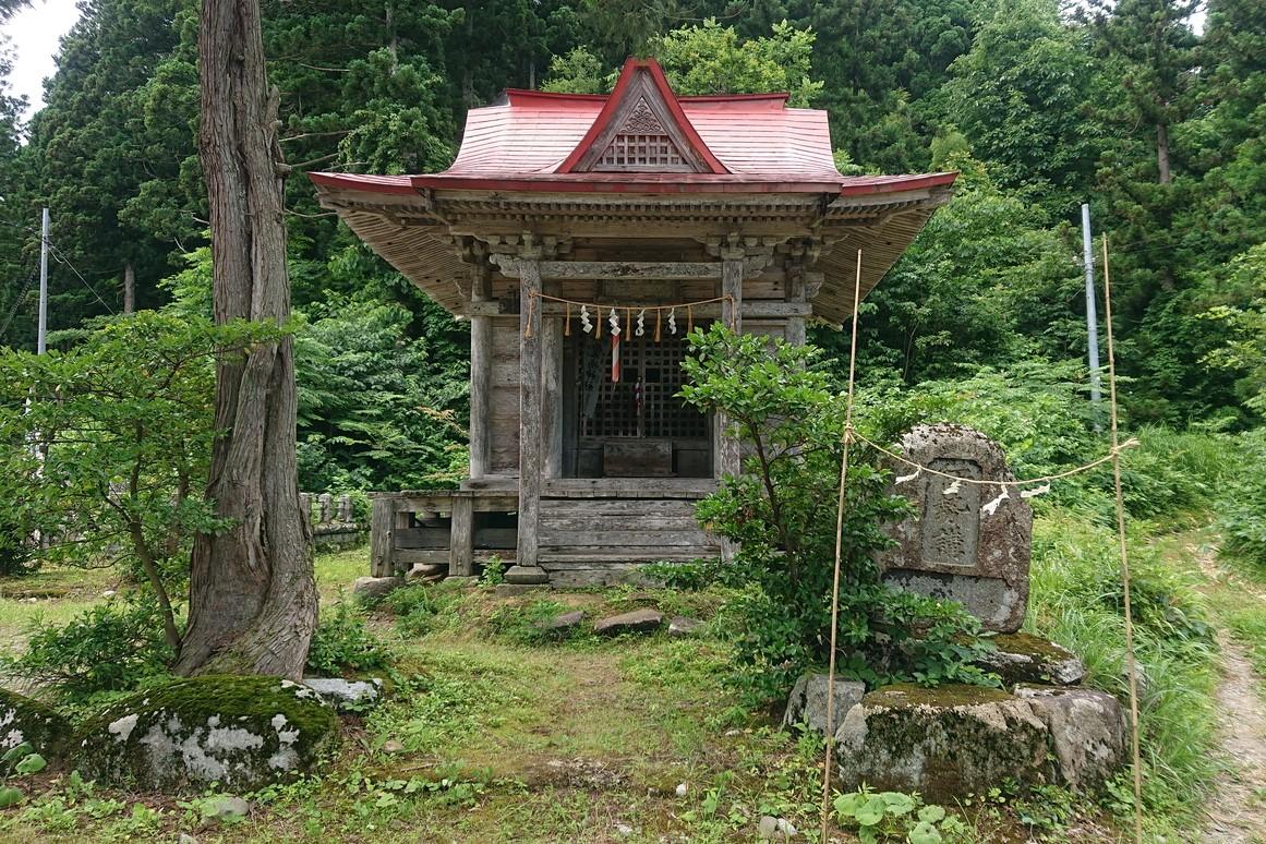 金峯山の粟島神社