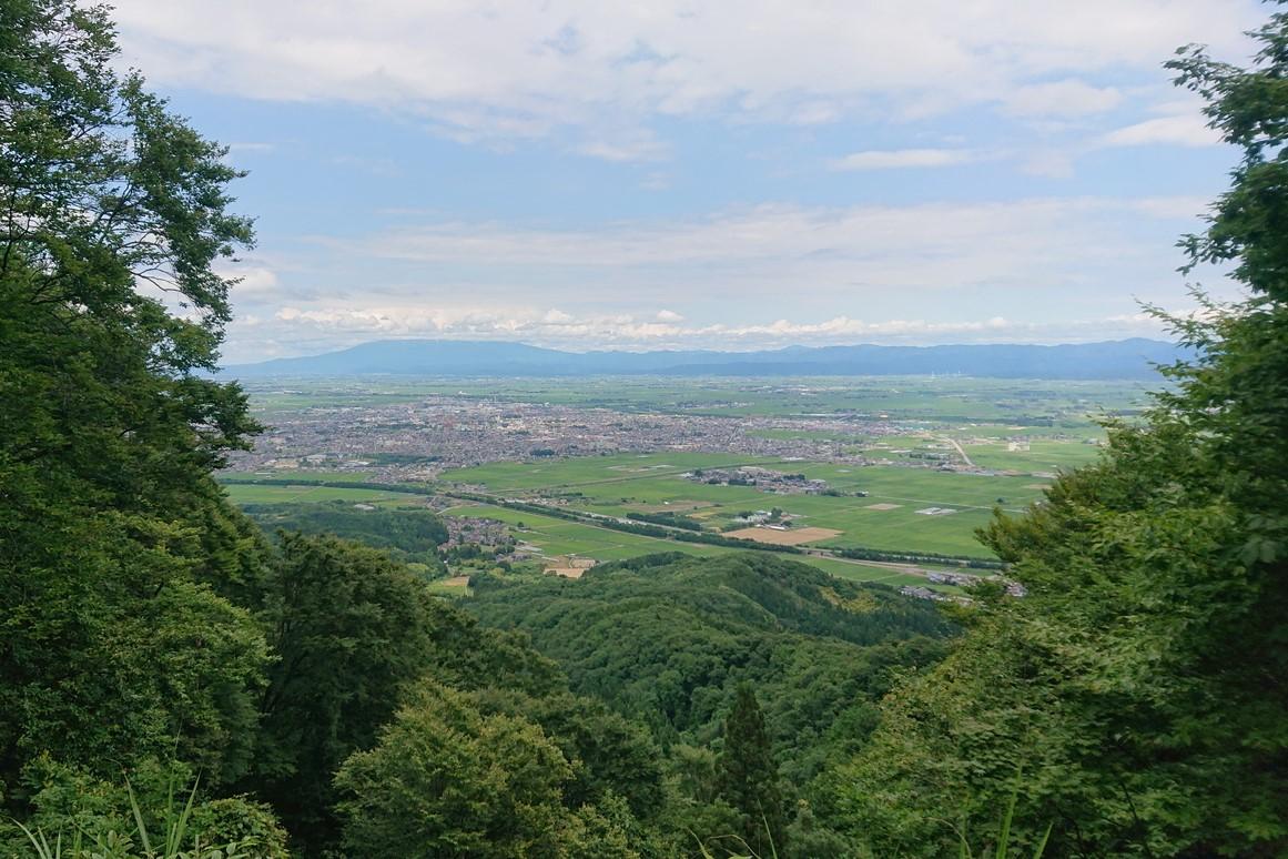 金峯山の八景台