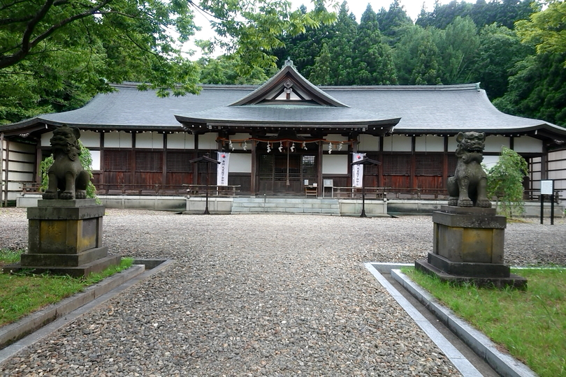 北舘神社の外観