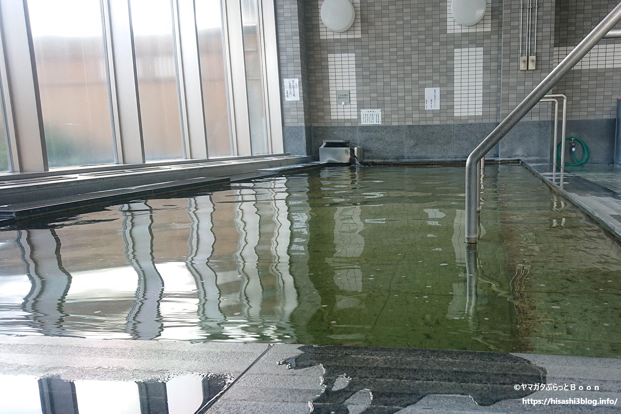 徳良湖温泉 花笠の湯の内風呂
