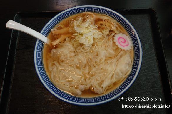 髙橋商店のワンタン麺