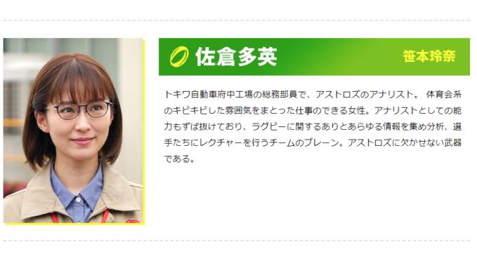 笹本玲奈さん