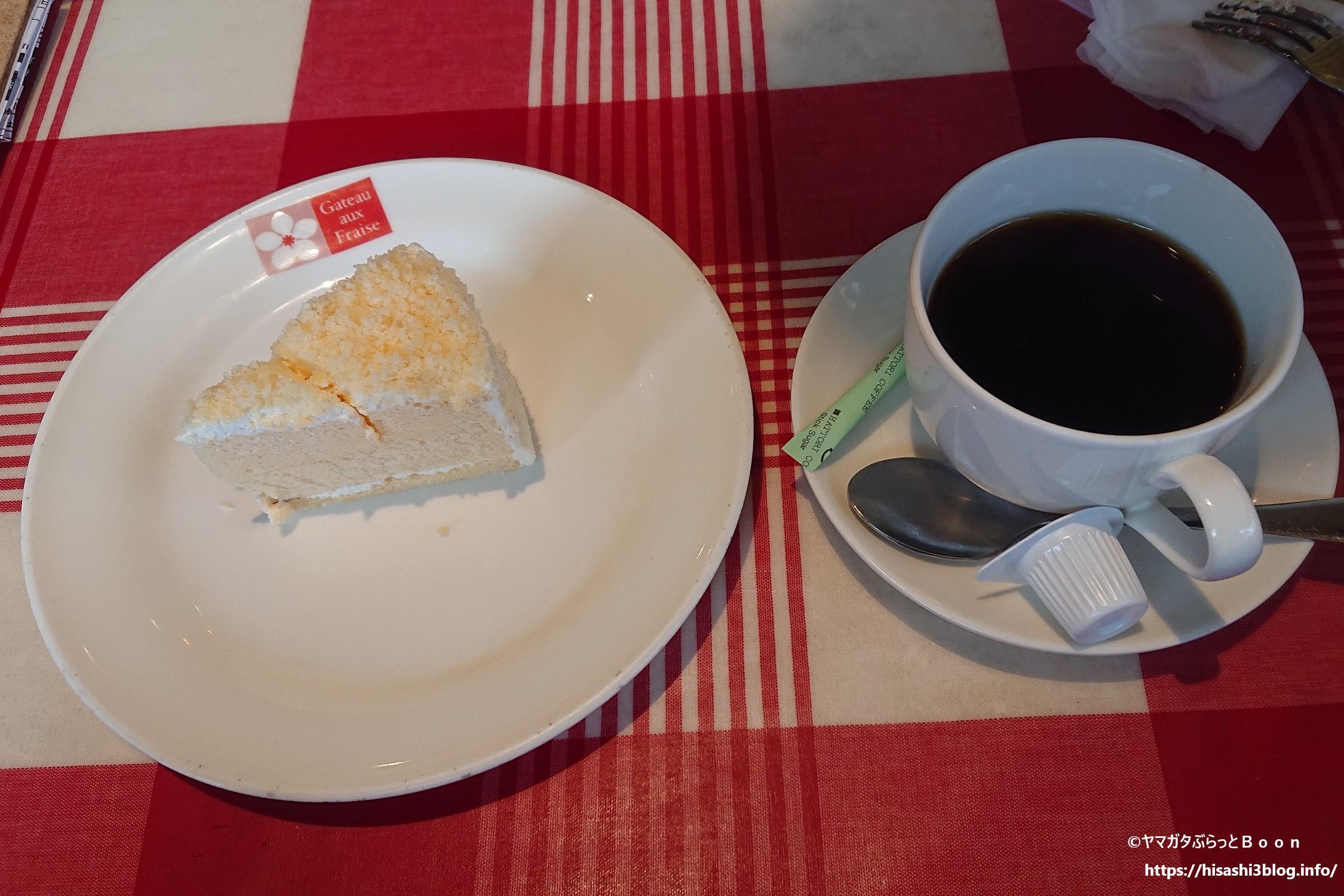 ガトーフレーズのチーズケーキ1