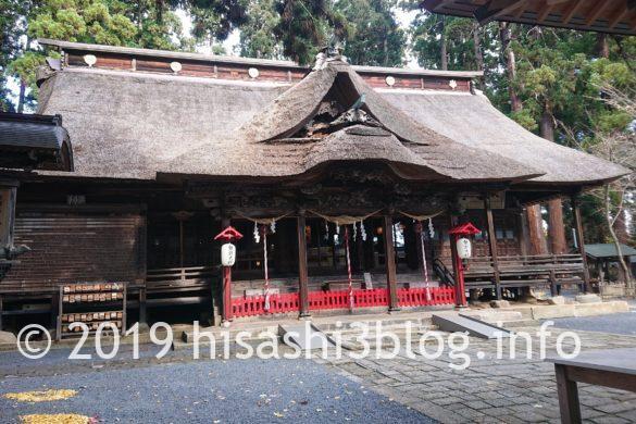 熊野大社の拝殿
