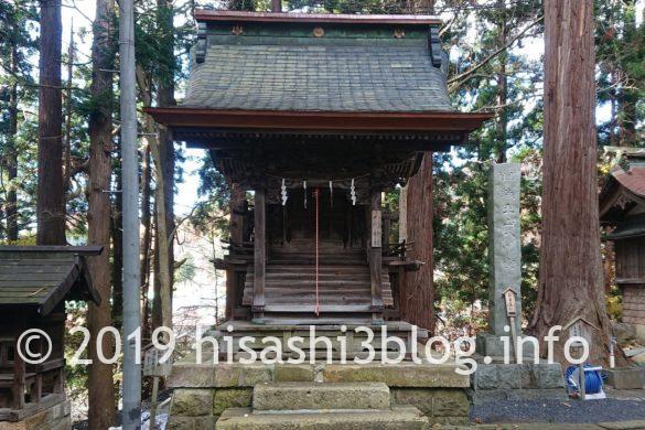 熊野大社の蟻王山八幡