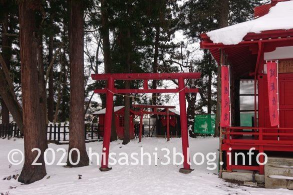 福徳稲荷神社の参道2