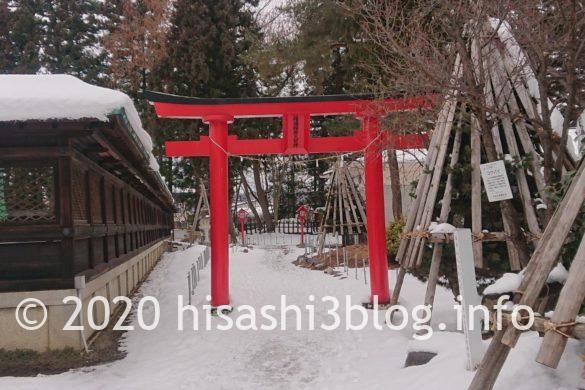 福徳稲荷神社の参道1