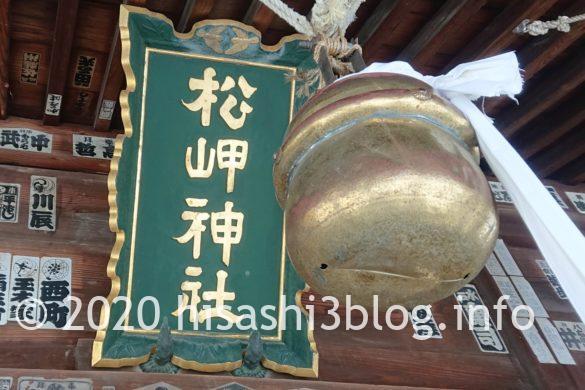 松岬神社の扁額