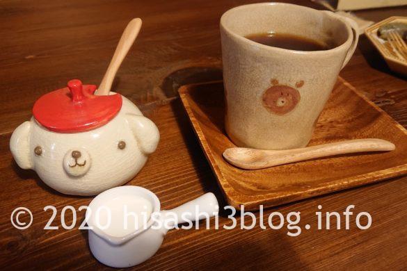 cafe mamenokiのブレンドコーヒー