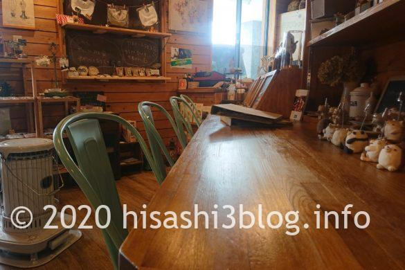cafe mamenokiのカウンター席