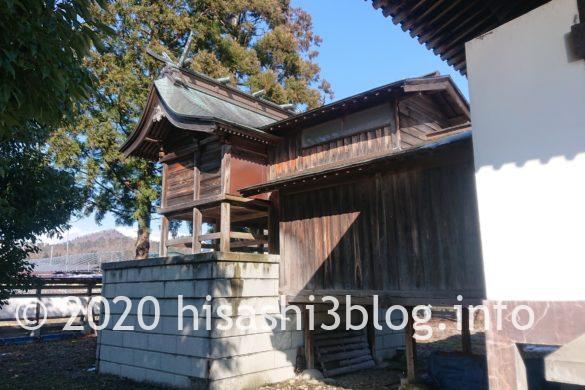 熊野・居合両神社の本殿