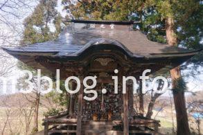 猫の宮の拝殿