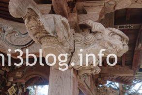 猫の宮の彫刻2