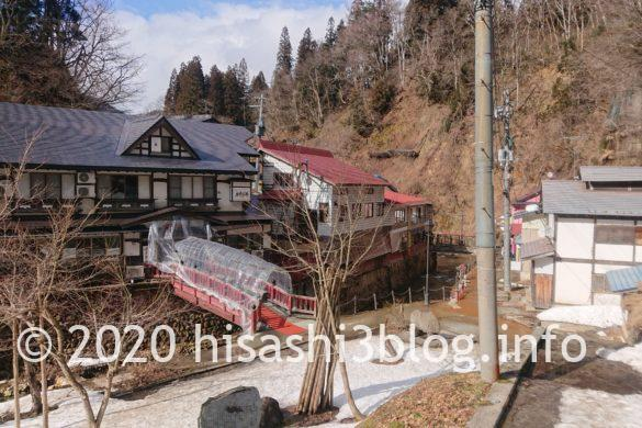 銀山温泉街の景色1