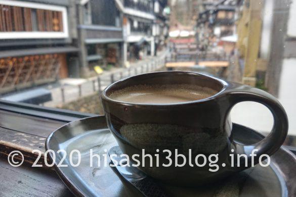 「伊豆の華」のブレンドコーヒー