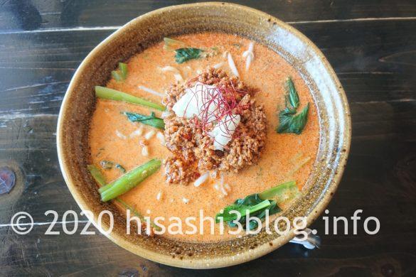 「麺屋 葵」の二代目担々麺1