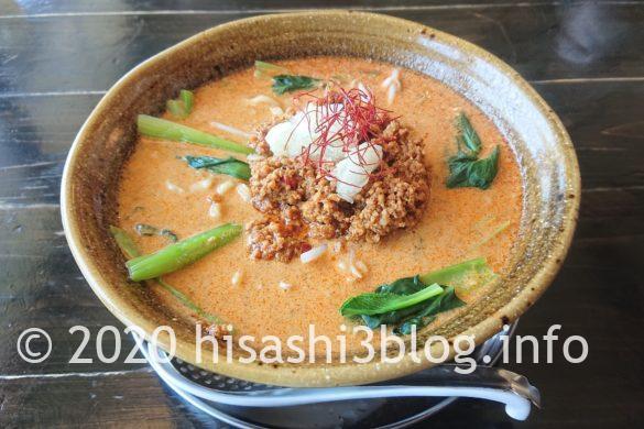 「麺屋 葵」の二代目担々麺2
