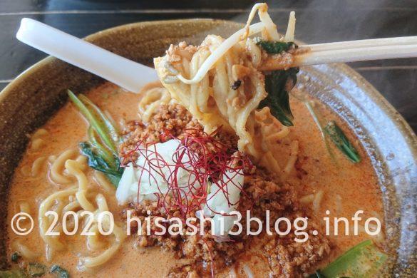 「麺屋 葵」の二代目担々麺3