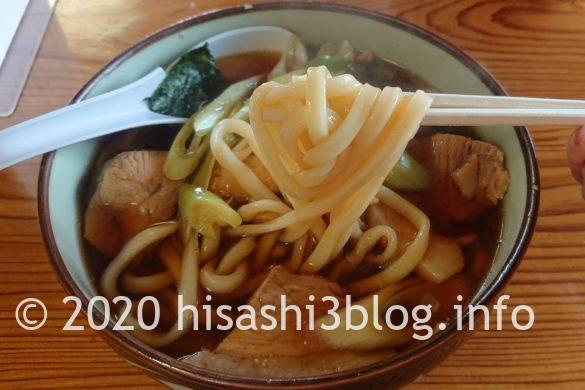 笹川食堂の肉うどん中盛3