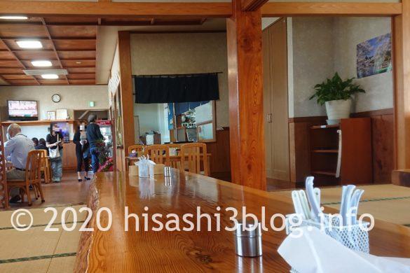 笹川食堂の店内