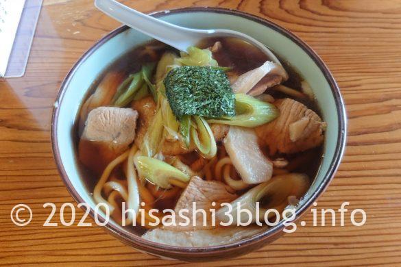 笹川食堂の肉うどん中盛1