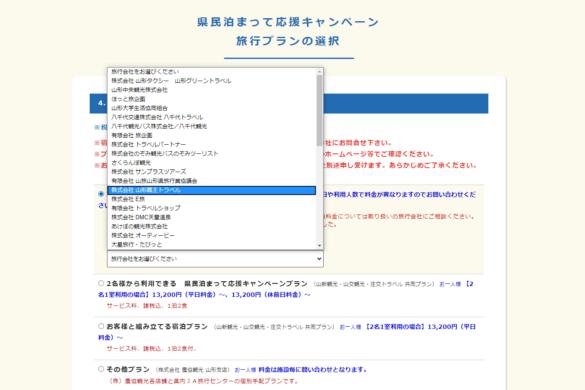 キャンペーンお申込みフォーム画面6