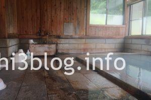 滑川温泉 福島屋の内湯浴室