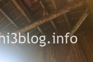 滑川温泉 福島屋の内湯浴室天井