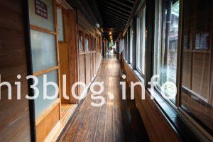滑川温泉 福島屋の廊下