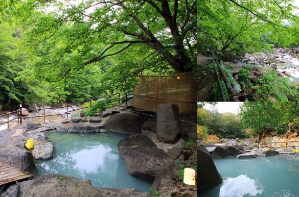 滑川温泉 福島屋の岩風呂