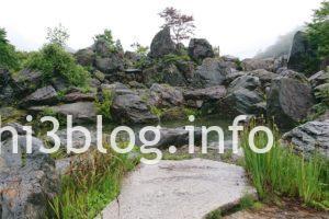 峠の茶屋 石庭