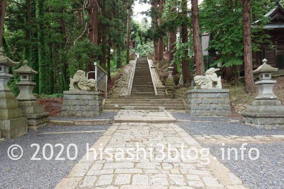 熊野大社 参道